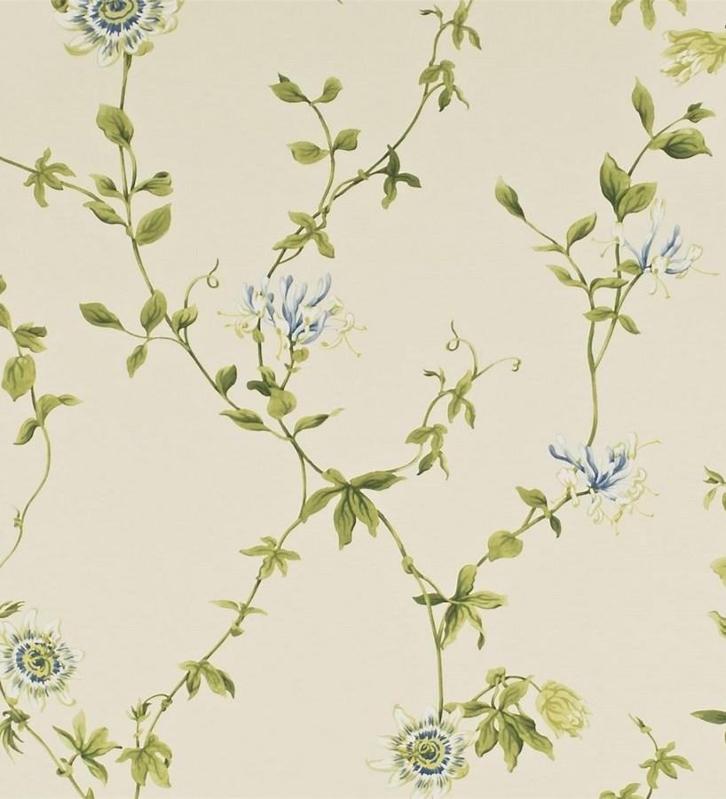 Papel pintado naturaleza vintage de flores artísticas Nora 565332