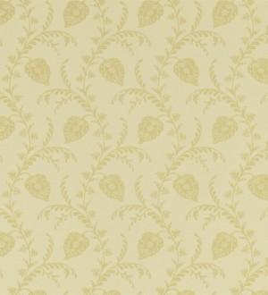 Papel pintado hojas artesanales y originales vintage Mavi 565337
