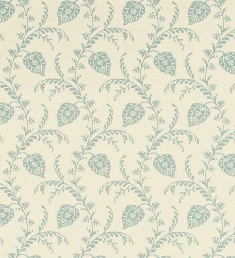 Papel pintado hojas artesanales y originales vintage Mavi 565339