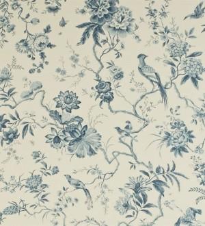 Papel pintado flores y pájaros estilo japonés artístico Agnes 565342