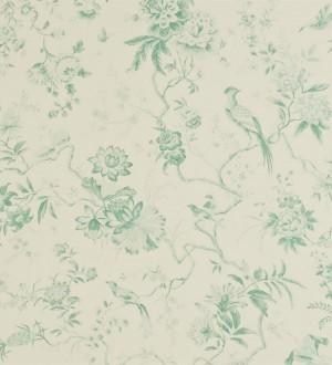 Papel pintado flores y pájaros estilo japonés artístico Agnes 565343