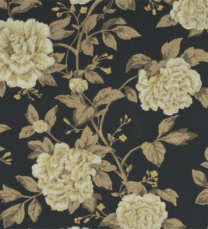 Papel pintado flores grandes de acabados románticos Bergenia 565345