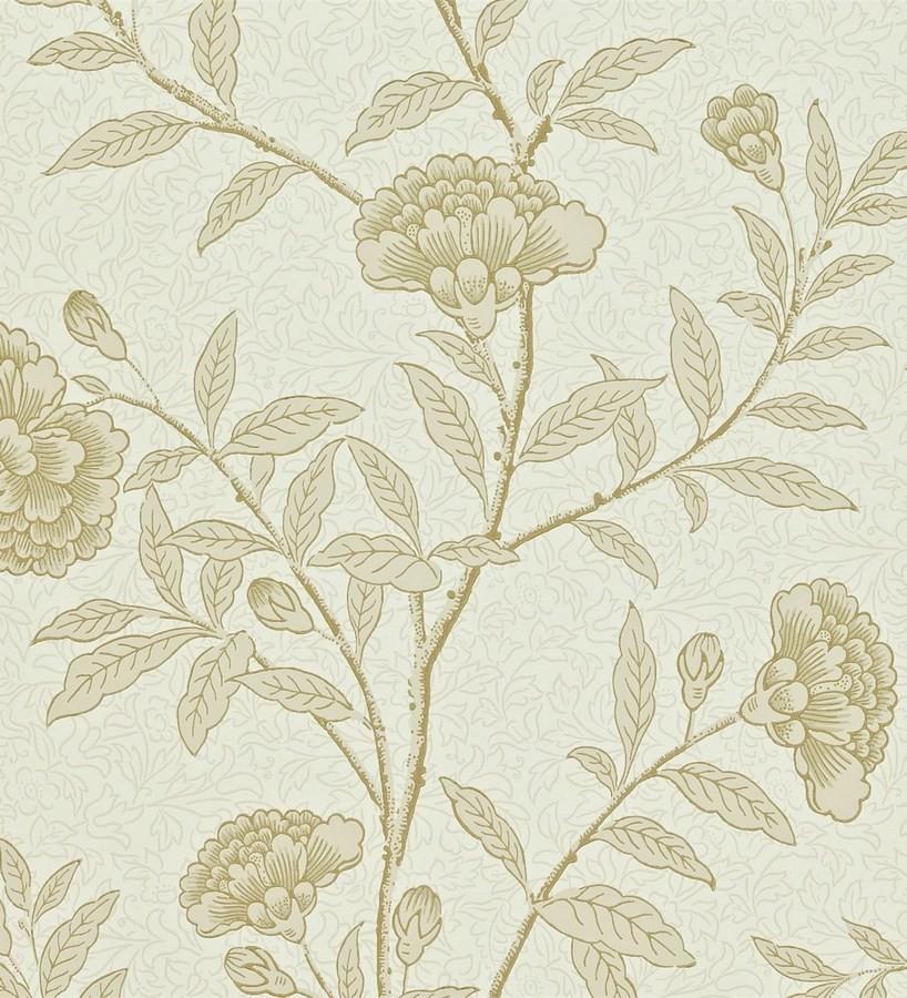 Papel pintado claveles vintage con remates de lujo Helen 565358