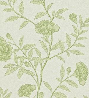 Papel pintado claveles vintage con remates de lujo Helen 565359