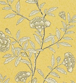 Papel pintado claveles vintage con remates de lujo Helen 565360
