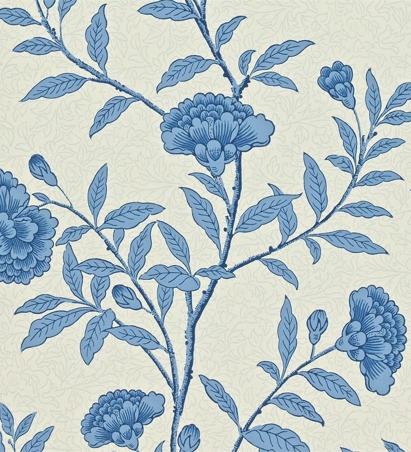 Papel pintado claveles vintage con remates de lujo Helen 565361