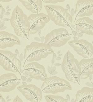 Papel pintado hojas tropicales artísticas diseño vintage Taigla 565365