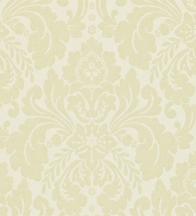 Papel pintado damasco con volutas de acanto clásicas Raffaello 565372
