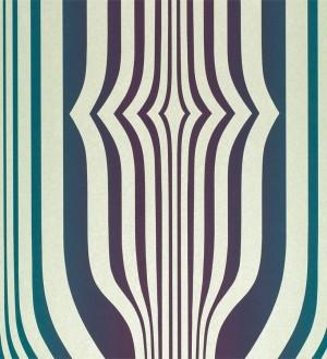 Papel pintado formas abstractas geométricas diseño retro Fincher 565430