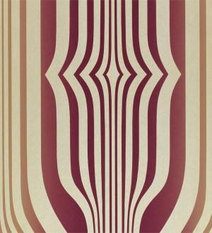 Papel pintado formas abstractas geométricas diseño retro Fincher 565431