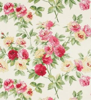 Papel pintado gardenias románticas estilo inglés Silvia 565436