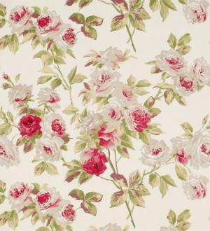 Papel pintado gardenias románticas estilo inglés Silvia 565437