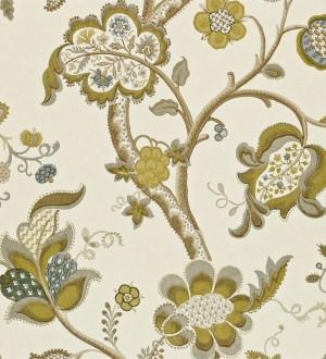 Papel pintado flores grandes diseño cashmere inglés Arlene 565444
