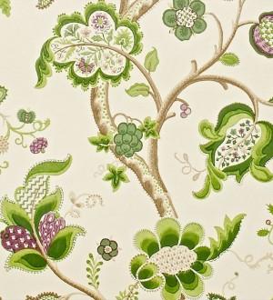 Papel pintado flores grandes diseño cashmere inglés Arlene 565446