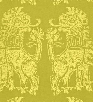 Papel pintado leones diseño griego artísticos Shabby Chic Daimaru 565453