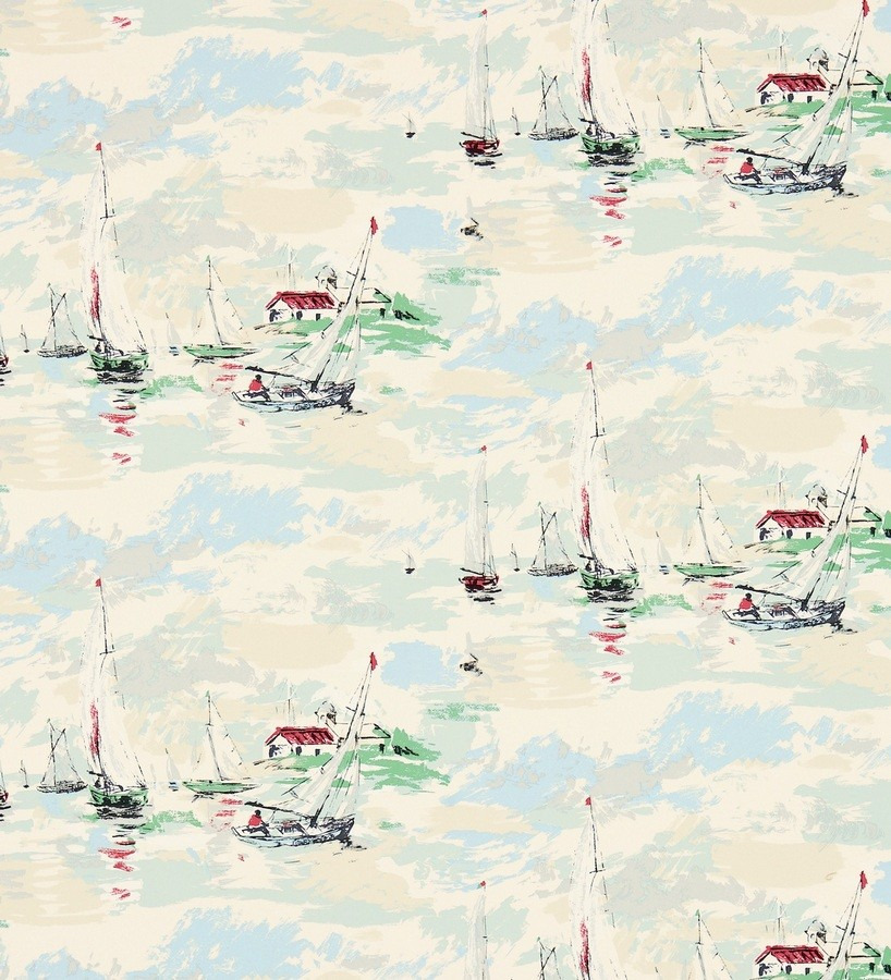Papel pintado estampa artística marinera Bateau 565486