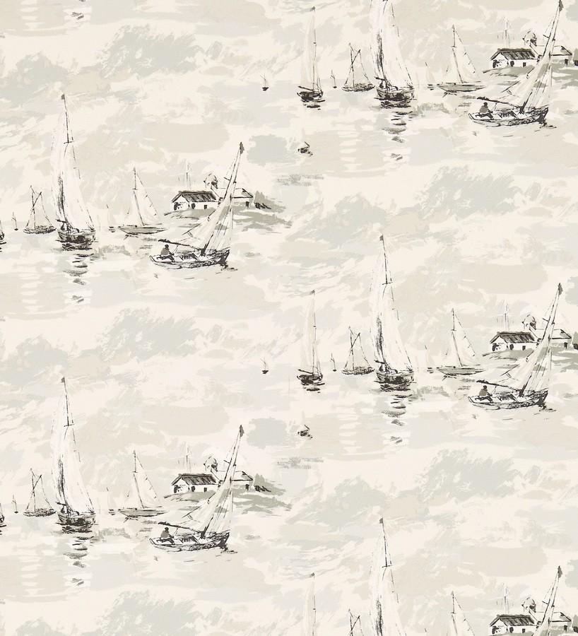 Papel pintado estampa artística marinera Bateau 565487
