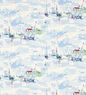 Papel pintado estampa artística marinera Bateau 565488