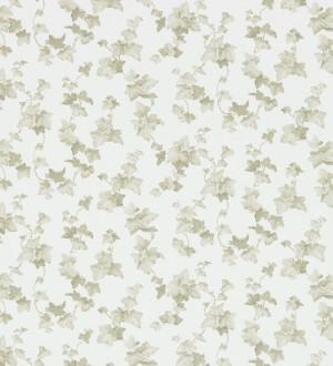 Papel pintado hojas de enredadera marrón grisáceo claro Rivina 565493