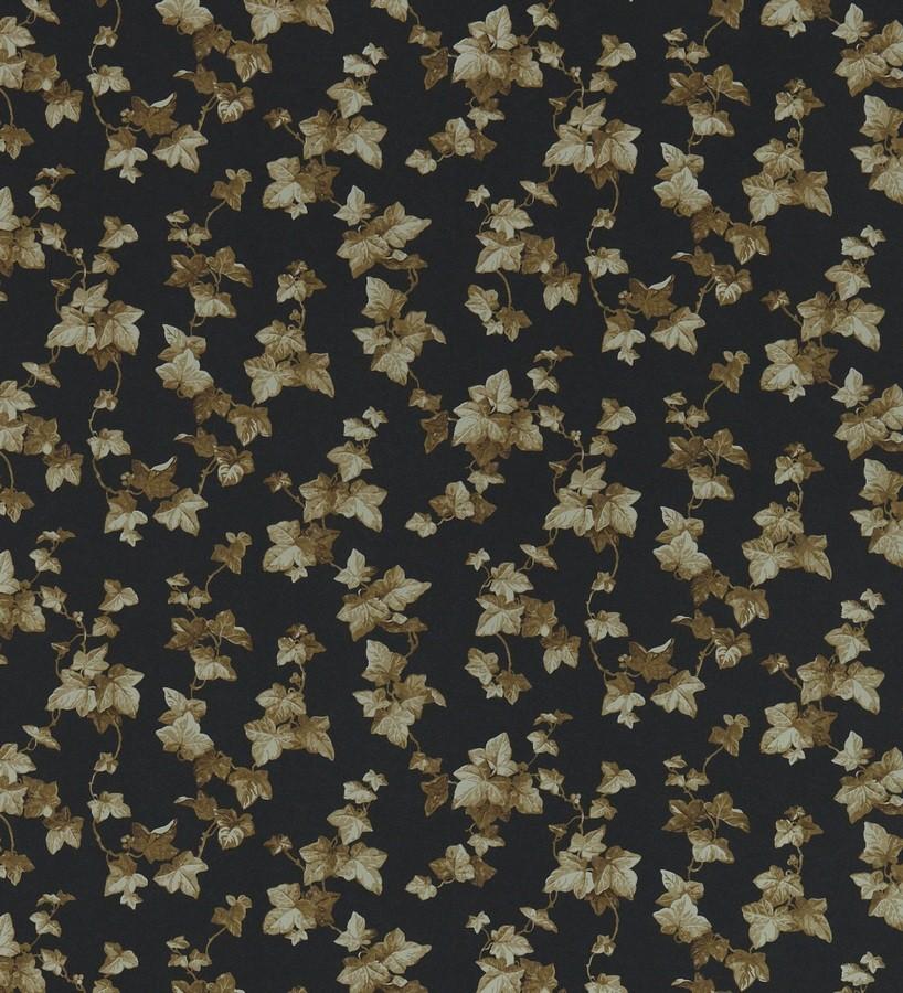 Papel pintado hojas de enredadera artísticas marrón claro Rivina 565494