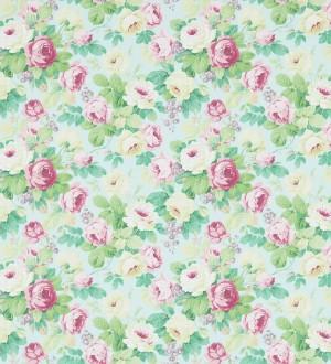Papel pintado flores románticas vintage al óleo Bromelia 565498