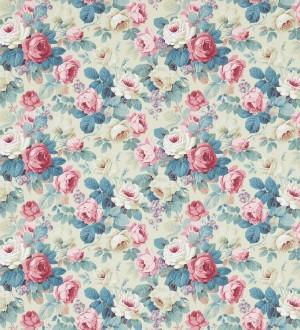 Papel pintado flores románticas vintage al óleo Bromelia 565500