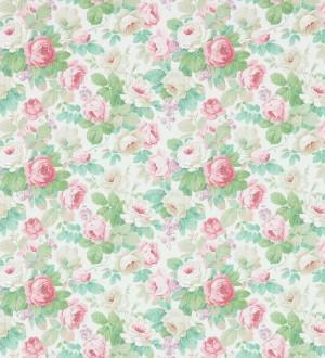 Papel pintado flores románticas vintage al óleo Bromelia 565502
