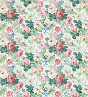 Papel pintado flores románticas vintage al óleo Bromelia 565504