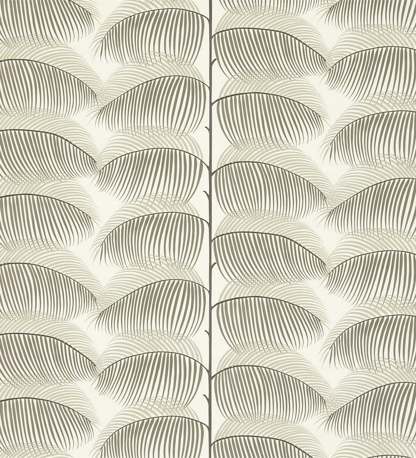 Papel pintado hojas de helecho estilo nórdico Biconia 565511