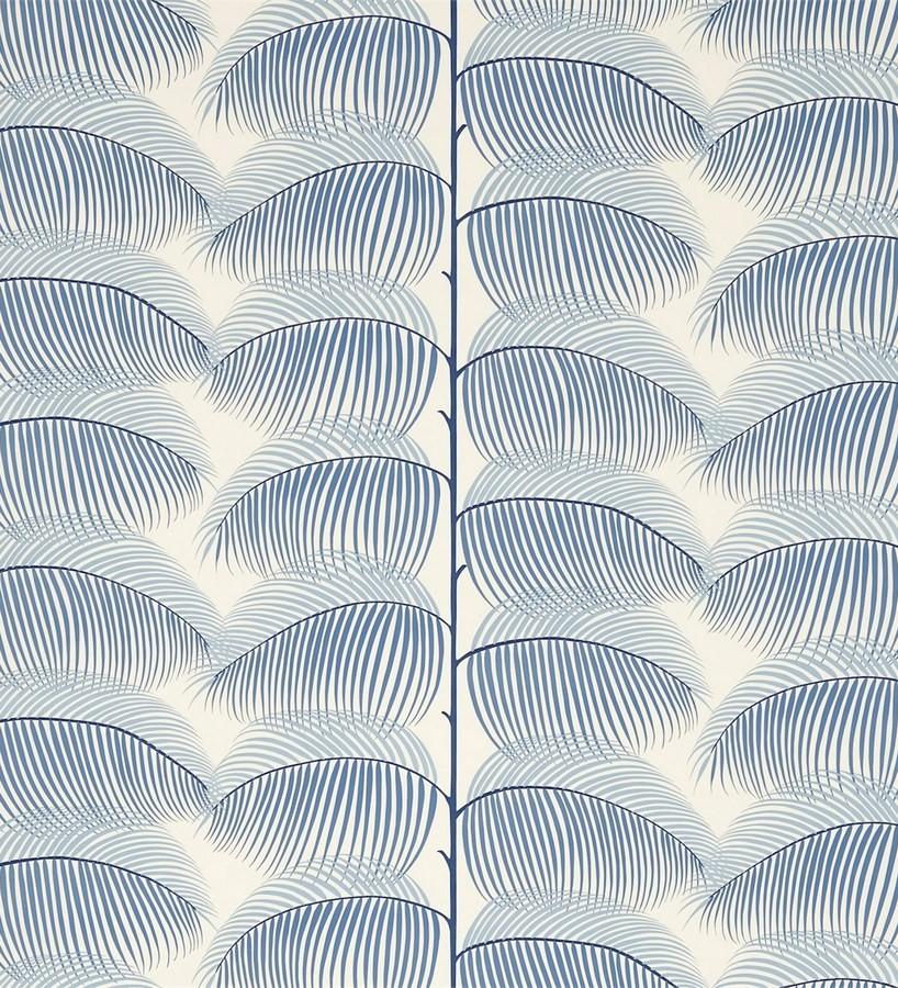 Papel pintado hojas de helecho estilo nórdico Biconia 565512