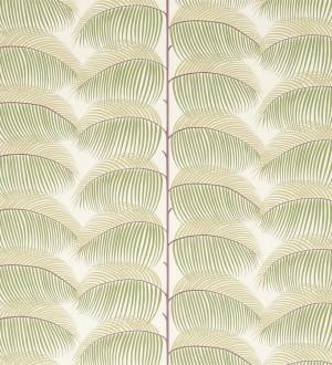 Papel pintado hojas de helecho estilo tropical Biconia 565513