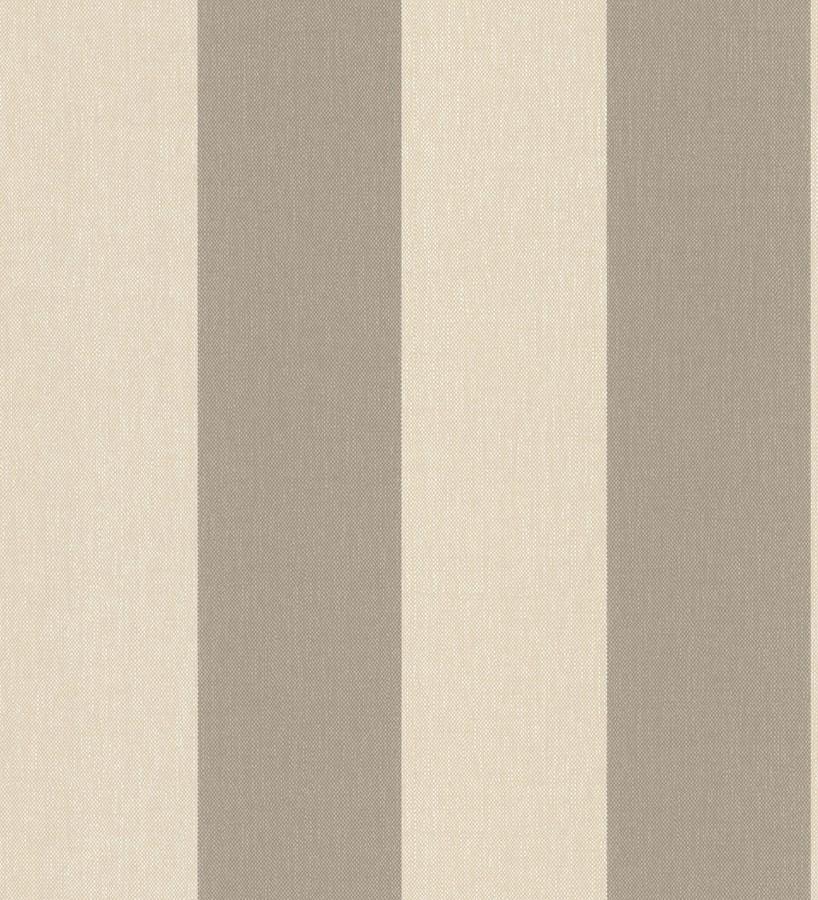 Papel pintado rayas tostado y marrón imitación textil Raya Connor 451834