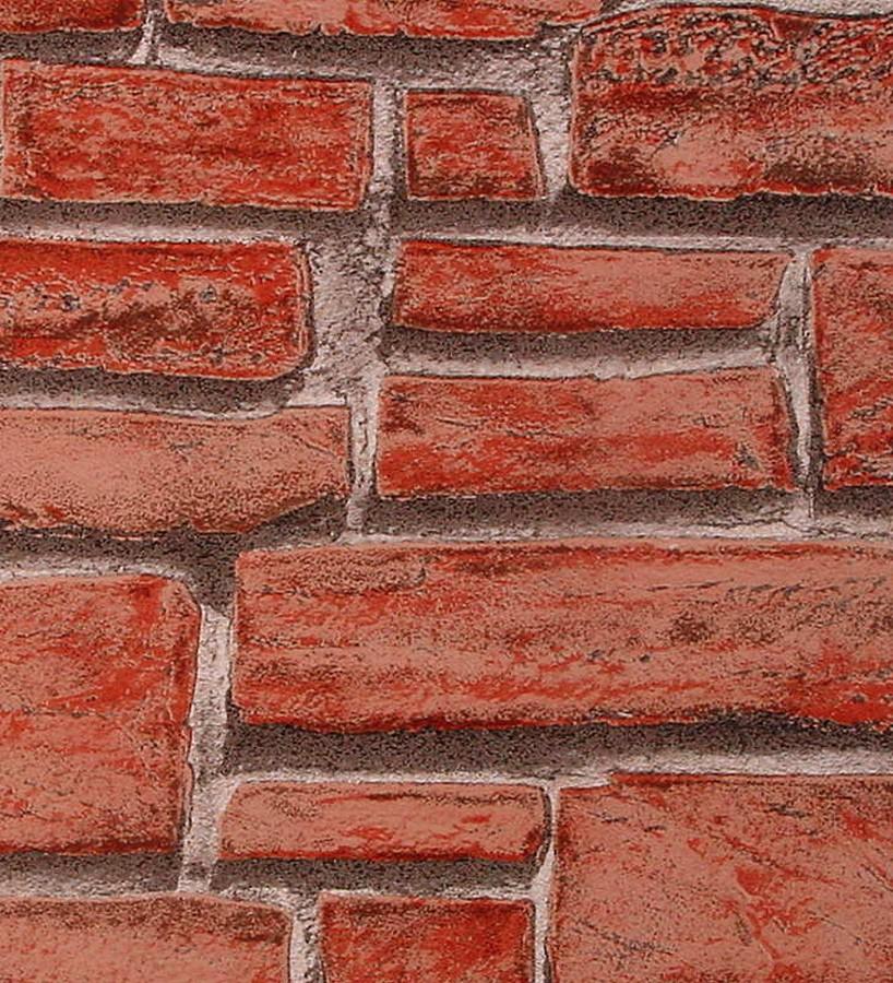 Papel pintado imitaci n ladrillo visto pared estilo r stico linley 453136 - Papeles pintados gaulan ...