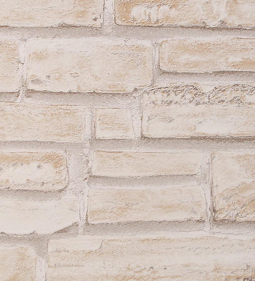8257087c9d358 Papel pintado imitación ladrillo claro pared estilo rústico Linley 453137.  1. Linley