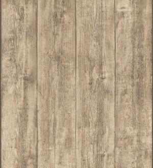 Papel pintado madera de roble natural en listones Capri 453148