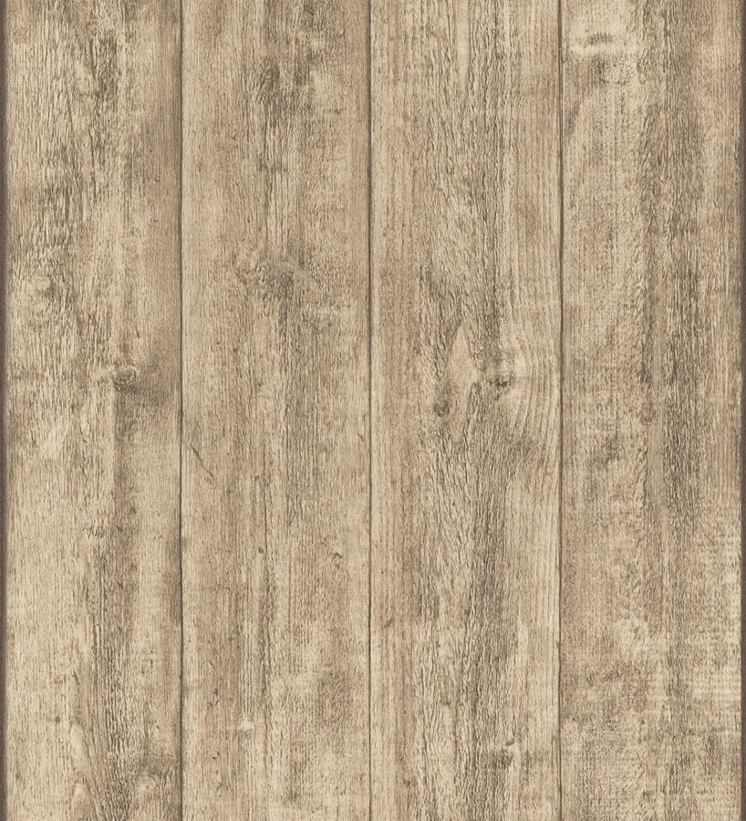 Papel pintado madera de roble natural en listones capri 453148 - Papeles pintados gaulan ...