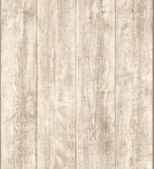 Papel pintado madera de roble claro en listones Capri 453150