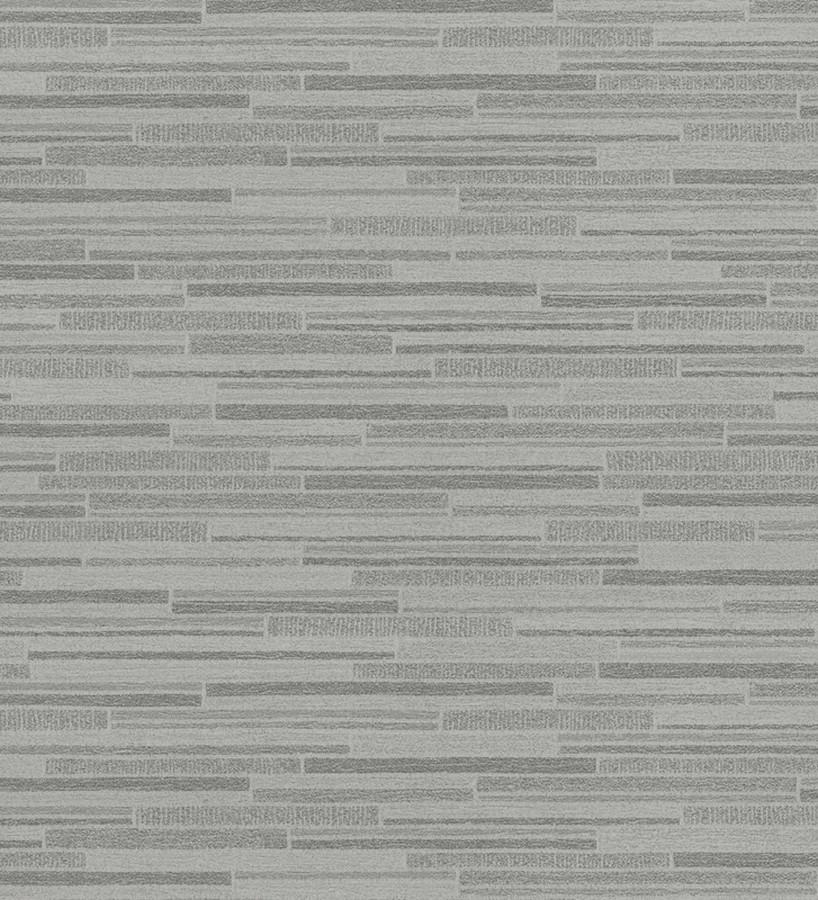 Papel pintado pared de ladrillos de piedra finos oscuro Morello 453151