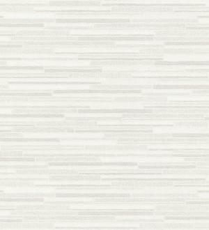 Papel pintado pared de ladrillos de piedra finos blanco Morello 453152