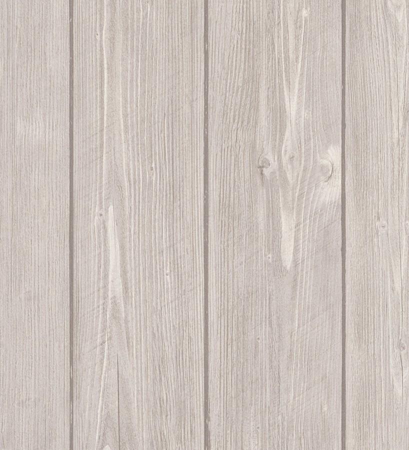 Papel pintado listones de madera tablas claras vinílico Monteleva 453168