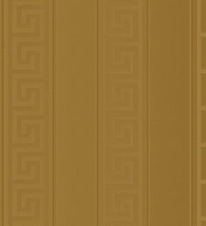 Papel pintado rayas finas doradas friso romano dorado Raya Flavio 453389