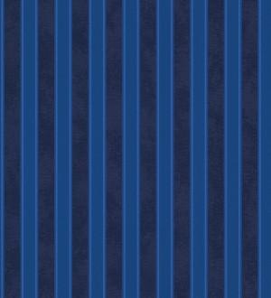 Papel pintado rayas clásicas azul pavo y azul oscuro Raya Royal Palace 453418