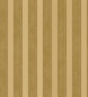 Papel pintado rayas clásicas doradas metalizado Raya Fancelli 453446