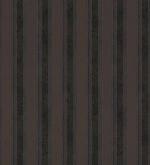 Papel pintado rayas clásicas metalizadas oscura Raya Fancelli 453447