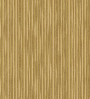 Papel pintado rayas finas doradas metalizadas Raya Lulú 453450