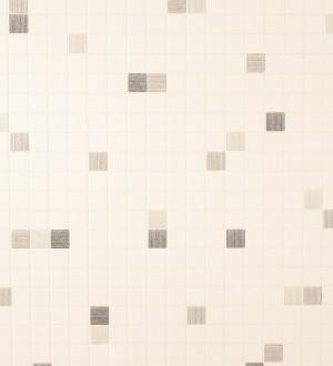 Papel pintado azulejo gresite para baños y cocinas marrón topo Ganges 453821