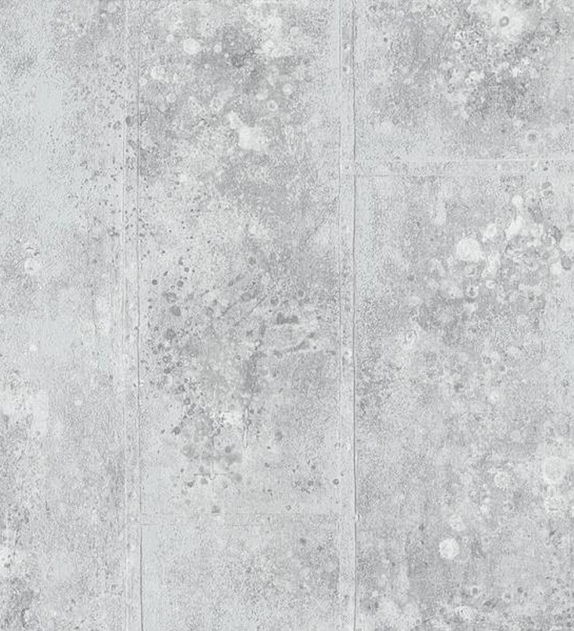 Papel pintado imitación hormigón estilo industrial Kurtzio 454587