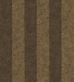 Papel pintado rayas simétricas marrón claro y marrón grisáceo Raya Sacchetti 455821