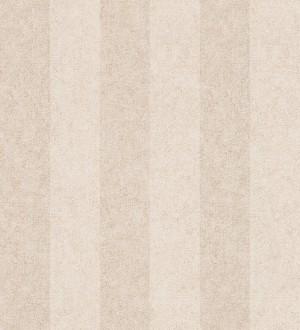 Papel pintado rayas simétricas blanco roto y beige claro Raya Sacchetti 455822