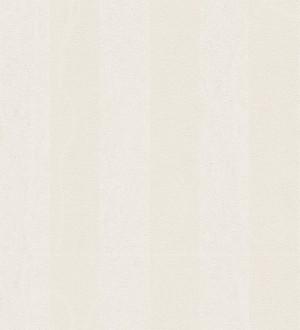 Papel pintado rayas simétricas clásicas blanco y blanco roto Raya Sacchetti 455824